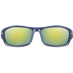 UVEX Sportstyle 211 Glasses, blue/mirror yellow
